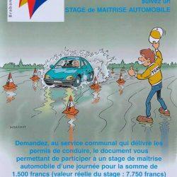 Affiche auto 2001