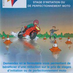 Affiche moto 2001
