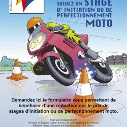 Affiche moto 2002