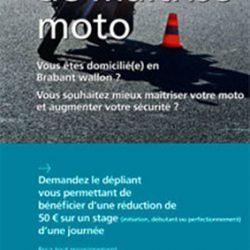 Affiche stage moto 2010