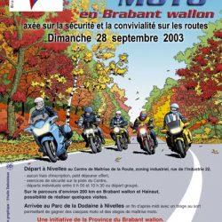 Affiche illustrée des journées du patrimoine 2003