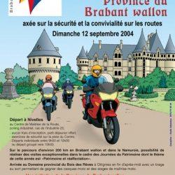 Affiche illustrée des journées du patrimoine 2004