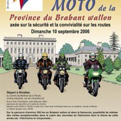 Affiche illustrée des journées du patrimoine 2006
