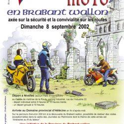 Affiche illustrée des journées du patrimoine 2002