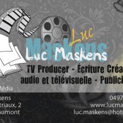 Carte de visite Maskens
