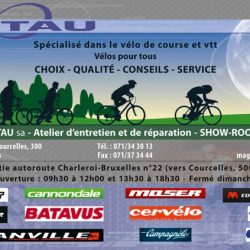Flyer des cycles Pitau