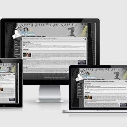 Site différents écrans