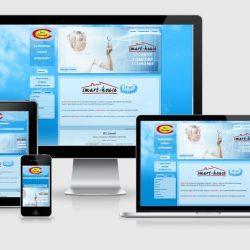Site et différents écrans