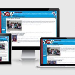 Site Stopi différents écrans